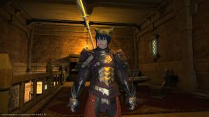 My Level 24 Lancer on FFXIV
